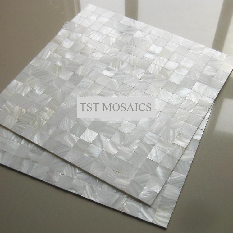 3d Peel And Stick Brick Wallpaper 2018 Mother Of Pearl Tile Mirror Wall Decor Mesh Mounted 4