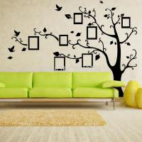 X Large Photo Frame Family Tree Wall Decal Tree Wall ...