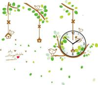 Large Decorative Wall Clock Sticker Home Decoration For ...