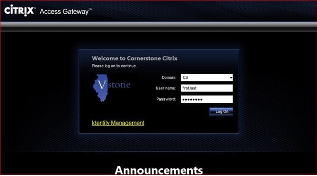 IDHS VStone and Citrix installation tutorial