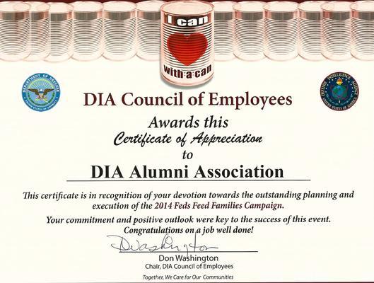 Defense Intel Alumni Association