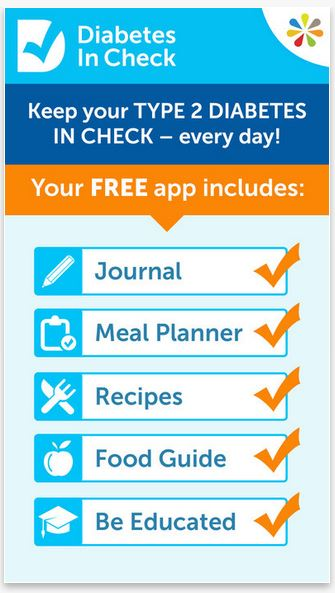 Diabetes in Check Blood Glucose  Carb Tracker