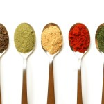 spices spoons