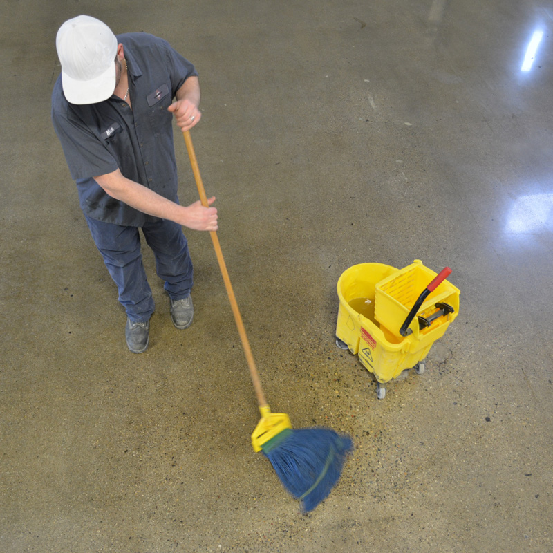 Polished Cement Floor Cleaner Carpet Vidalondon