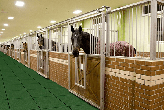 Equine Flooring Horse Stall Mats Diamond Safety Concepts