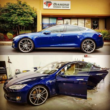 auto glass tinting in Seattle