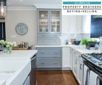 Blue and White Kitchen Cabinets - Diamond Cabinetry