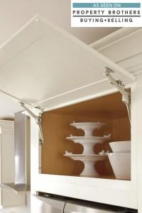 Wall Cabinet with Top Hinge Door - Diamond Cabinetry