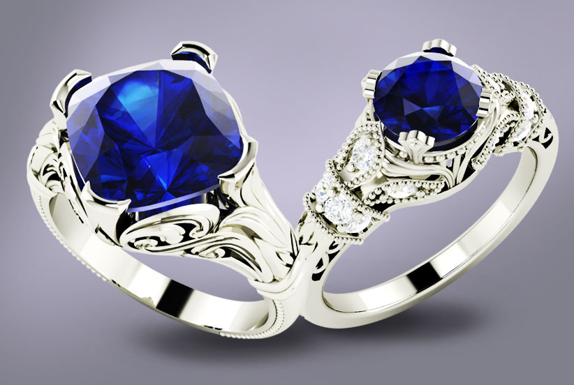 How to choose the right shade of Blue Sapphire! - Diamondere Blog