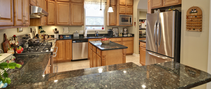 Diamond granite and remodeling full kitchen and bath