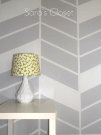 Painter's Tape Wall Design   Diamond Vogel