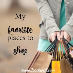 52 Lists Project Week 37 – Favorite Places To Shop