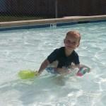 Nolan's first trip to ML pool