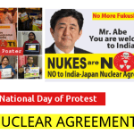 25th January 2014: National Day of Protest against India-Japan Nuclear Agreement