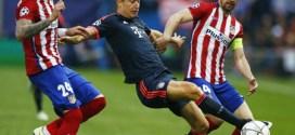 Bayern-Atlético, duelo explosivo a todo o nada