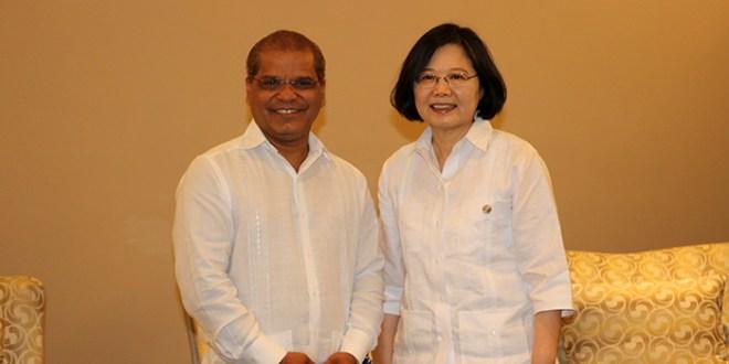 Vicepresidente fortalece lazos de amistad, comercio y cooperación entre el país y Taiwán