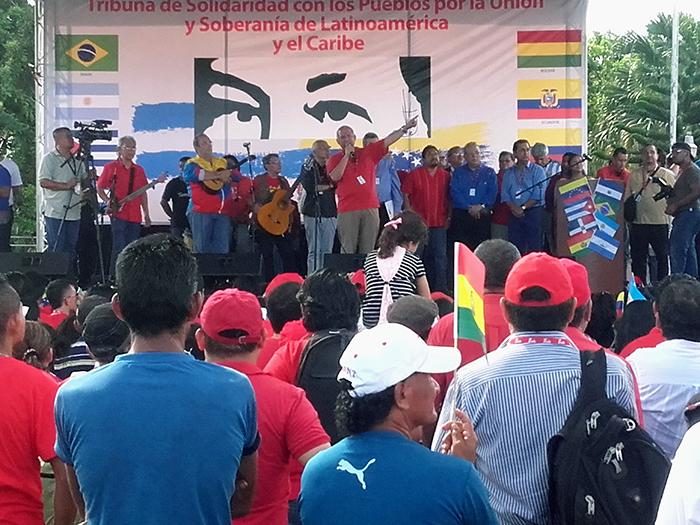 El Salvador y Latinoamérica contra  la injerencia en Venezuela