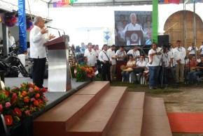 Presidente Sánchez Cerén hace  un llamado a la esperanza