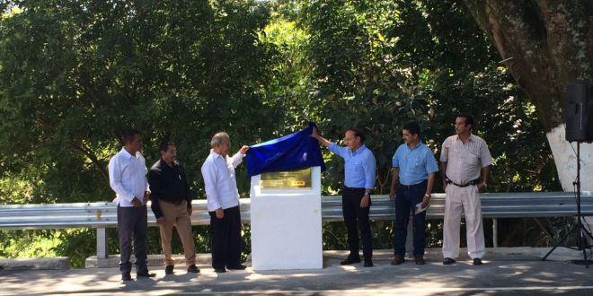 Presidente de la República entrega a población Puente La Palma-Citalá, Chalatenango