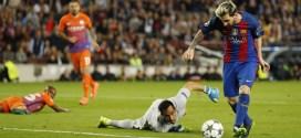 Barcelona brilla con Messi, Bayern y Arsenal golean y Atlético gana