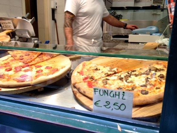 pizza al taglio venecia
