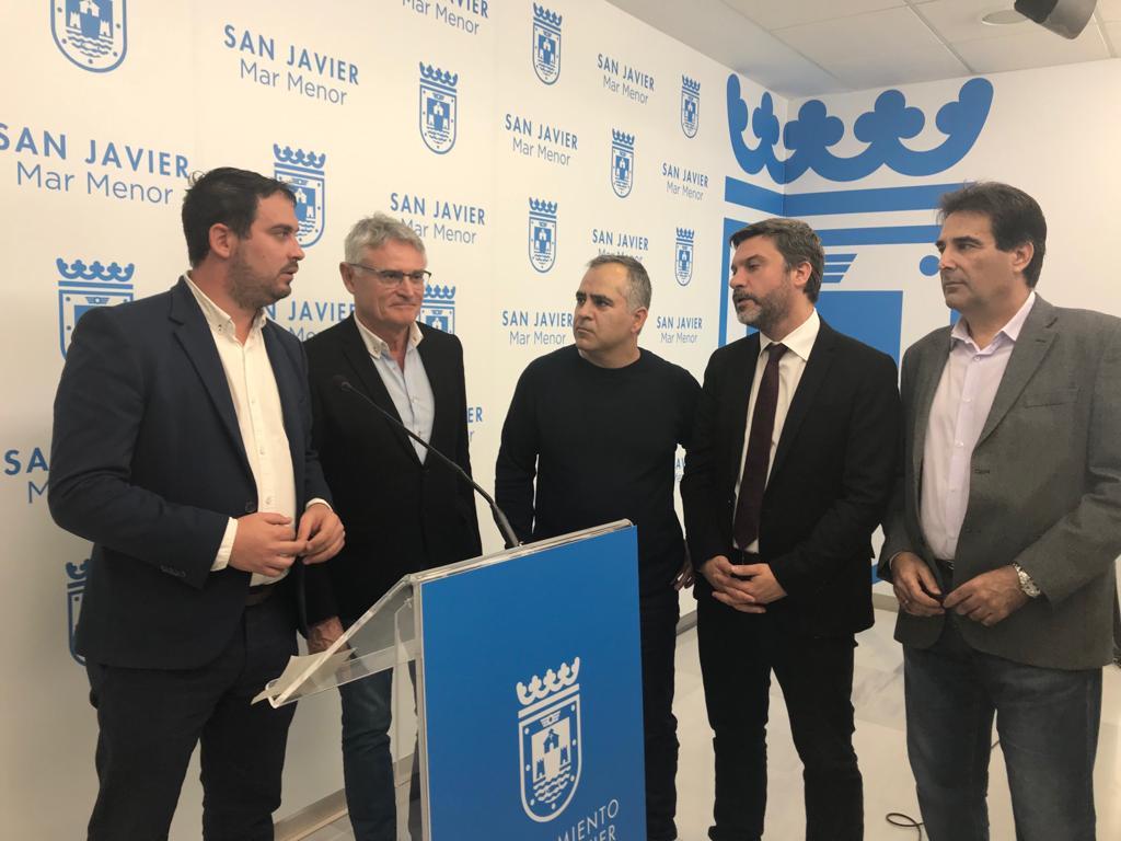 La oposición acusa al Gobierno regional de no haber previsto los efectos de las nuevas inundaciones en el Mar Menor