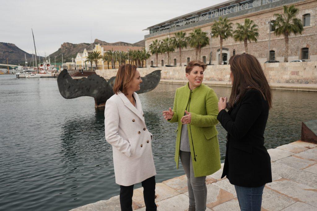 Noelia Arroyo presentó ayer la Convención Regional de Turismo en Cartagena
