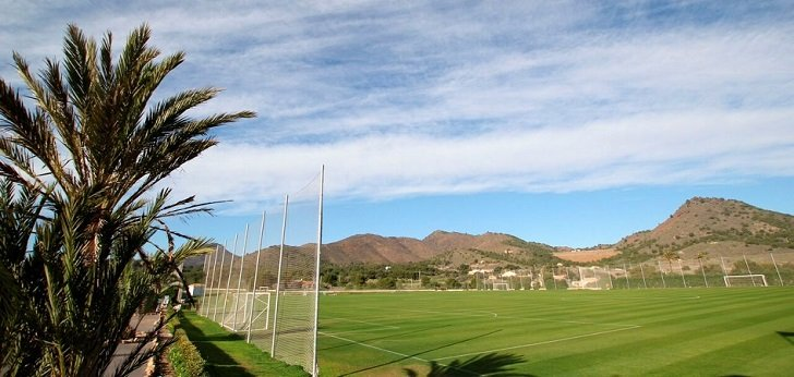 Las selecciones femeninas de fútbol de Escocia, Noruega, Islandia y Canadá, hospedadas en La Manga Club