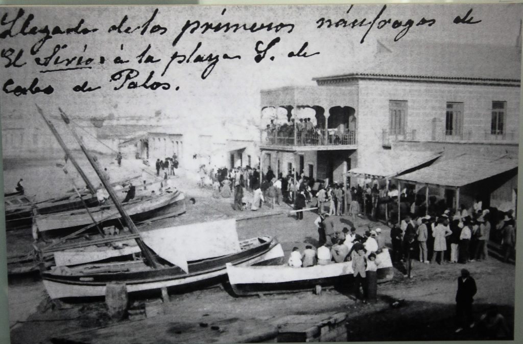 Cabo de Palos honra la memoria de las víctimas del Sirio