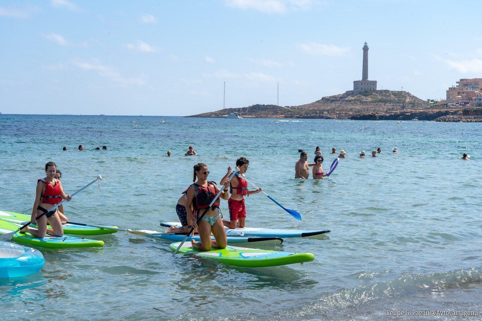 Arranca el Cabo de Pop 2019 con actividades náuticas