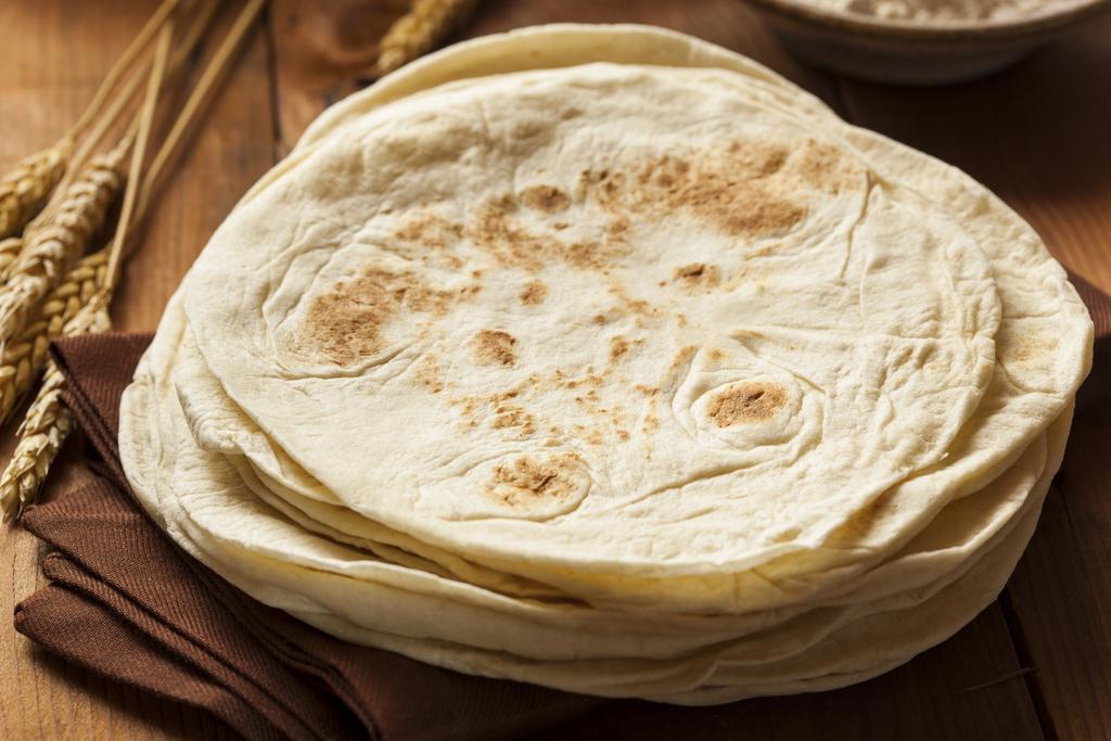 Tortillas para fajitas o burritos