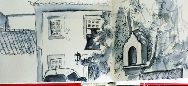 Sketching is like resting…
