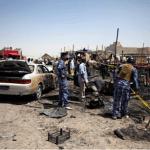 Un total de 17 soldados murieron y otros 25 resultaron heridos en dos ataques con coche bomba llevados a cabo contra miembros del Ejército iraquí