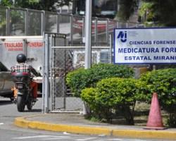 Se conoció que los familiares de una de las victimas señalaron que no tenían dinero para funeral y que no reclamarían los cuerpos en la medicatura local.