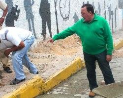Las labores fueron desarrolladas por funcionarios de la Dirección de Servicios Públicos de la Alcaldía de Carrizal