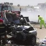 Los accidentes de minibús son frecuentes en Sudáfrica, con balances a menudo elevados.