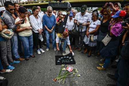 Chavistas marchan hasta Miraflores para apoyar la Constituyente