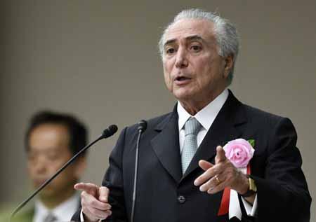 Fiscalía brasileña denuncia al presidente Temer por corrupción
