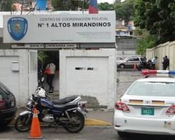 El jefe policial indicó que el aprehendido fue trasladado hasta la Comandancia General de la Policía de Miranda