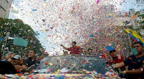 VENEZUELA-ELECTIONS-CAMPAIGN-CAPRILES