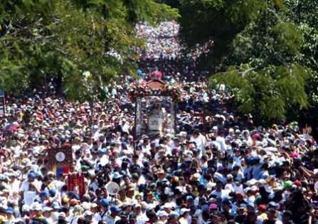 Procesion de la Divina Pastora Barquisimeto Estado Lara Venezuel