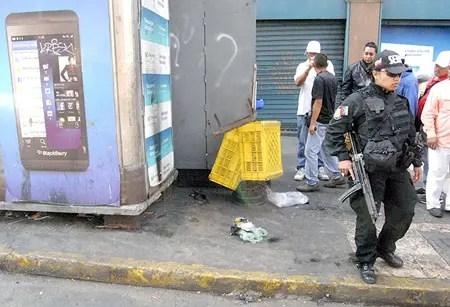 Detonan al menos tres artefactos explosivos en Capitolio,Pajaritos y el CNE en el centro de Caracas