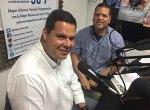 Juan Carlos Caldera, dirigente nacional de PJ y representante de la MUD ante el CNE, en entrevista con el periodista, Emilio Materán.