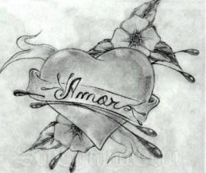 Dibujos de amor bonitos