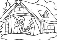 dibujos-navidad-pesebre
