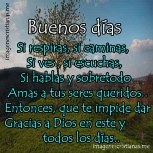 lindas frases para agradecer a Dios