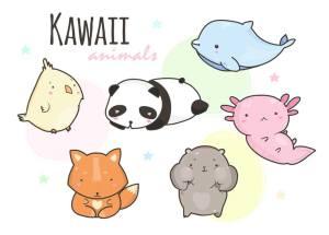 Dibujos kawaii para pintar e imprimir