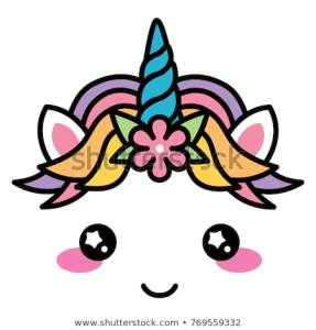 kawaii-cute-unicorn-face-rainbow-450w-769559332
