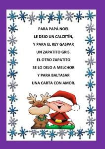 Poesías para niños cortas de navidad