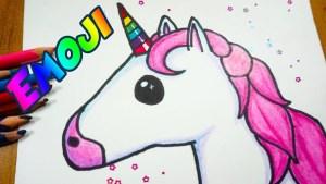 Dibujos faciles de unicornios kawaii